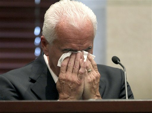 """<div class=""""meta image-caption""""><div class=""""origin-logo origin-image none""""><span>none</span></div><span class=""""caption-text"""">George Anthony testifies during the murder trial of his daughter, Casey,  at the Orange County Courthouse in Orlando, Fla., Wednesday, June 29, 2011. (ASSOCIATED PRESS)</span></div>"""