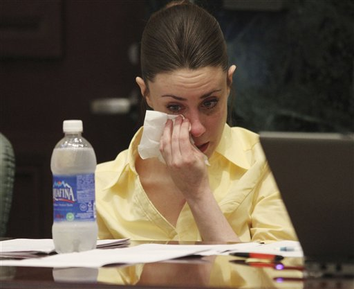 """<div class=""""meta image-caption""""><div class=""""origin-logo origin-image none""""><span>none</span></div><span class=""""caption-text"""">Casey Anthony reacts as the state presents its closing arguments in her murder trial in Orlando, Fla., Sunday, July 3, 2011. (AP)</span></div>"""