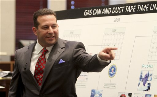 """<div class=""""meta image-caption""""><div class=""""origin-logo origin-image none""""><span>none</span></div><span class=""""caption-text"""">Jose Baez points and yells in the direction of the prosecution table during his closing arguments in the Casey Anthony murder trial in Orlando, Fla., Sunday, July 3, 2011. (AP)</span></div>"""