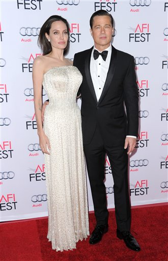 <div class='meta'><div class='origin-logo' data-origin='none'></div><span class='caption-text' data-credit='Richard Shotwell/Invision/AP'>Angelina Jolie and Brad Pitt arrive at the 2015 AFI Fest opening night premiere of &#34;By The Sea&#34; on Thursday, Nov. 5, 2015, in Los Angeles. (Photo by Richard Shotwell/Invision/AP)</span></div>