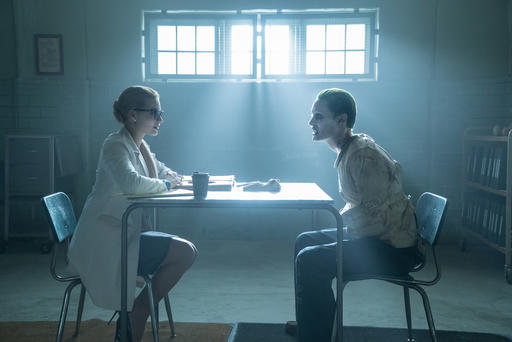 "<div class=""meta image-caption""><div class=""origin-logo origin-image none""><span>none</span></div><span class=""caption-text"">This image released by Warner Bros. Pictures shows Margot Robbie, left, and Jared Leto in a scene from, ""Suicide Squad."" (Clay Enos/Warner Bros. Pictures via AP) (AP)</span></div>"