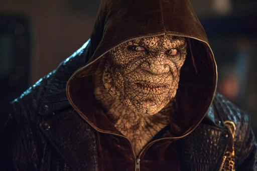 "<div class=""meta image-caption""><div class=""origin-logo origin-image none""><span>none</span></div><span class=""caption-text"">This image released by Warner Bros. Pictures shows  Adewale Akinnuoye-Agbaje as Killer Croc in a scene from ""Suicide Squad."" (Clay Enos/Warner Bros. Pictures via AP) (AP)</span></div>"