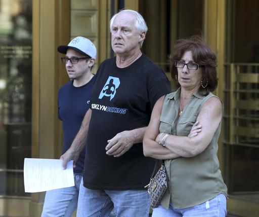 <div class='meta'><div class='origin-logo' data-origin='AP'></div><span class='caption-text' data-credit='ASSOCIATED PRESS'>Vincent Thomas, center, leaves federal court in New York, Thursday, Aug. 4, 2016.</span></div>