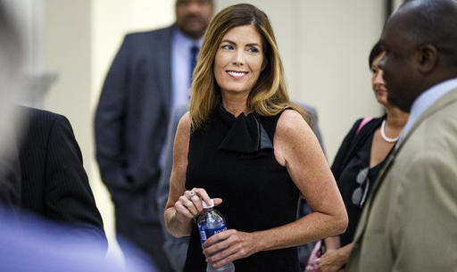 <div class='meta'><div class='origin-logo' data-origin='AP'></div><span class='caption-text' data-credit='AP'>In this Friday, Aug. 12, 2016 file photo, Pennsylvania Attorney General Kathleen Kane takes a morning break during the fifth day of her trial at the Montgomery County Courthouse</span></div>