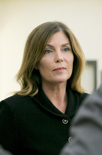 <div class='meta'><div class='origin-logo' data-origin='AP'></div><span class='caption-text' data-credit='AP'>Pennsylvania Attorney General Kathleen Kane leaves the courtroom after closing arguments in her perjury and obstruction trial at the Montgomery County Courthouse.</span></div>