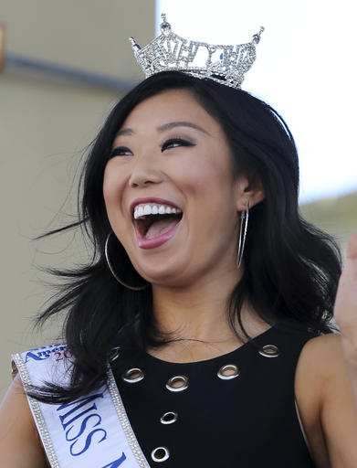"<div class=""meta image-caption""><div class=""origin-logo origin-image none""><span>none</span></div><span class=""caption-text"">In this Tuesday, Aug. 30, 2016 photograph, Miss Michigan, Arianna Quan is introduced during Miss America Pageant arrival ceremonies in Atlantic City. (AP)</span></div>"