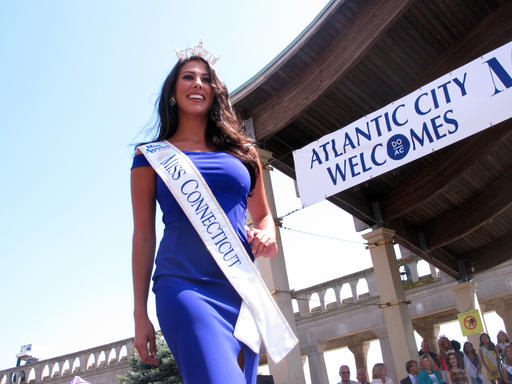 "<div class=""meta image-caption""><div class=""origin-logo origin-image none""><span>none</span></div><span class=""caption-text"">This Tuesday, Aug. 30, 2016 photo shows Miss Connecticut Alyssa Rae Taglia at a welcoming ceremony for Miss America contestants in Atlantic City. (AP)</span></div>"