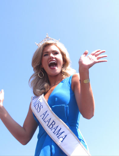 <div class='meta'><div class='origin-logo' data-origin='none'></div><span class='caption-text' data-credit='AP'>This Tuesday, Aug. 30, 2016 photo shows Miss Alabama Hayley Barber at a welcoming ceremony for Miss America contestants in Atlantic City.</span></div>