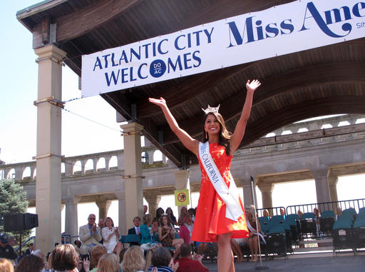 <div class='meta'><div class='origin-logo' data-origin='none'></div><span class='caption-text' data-credit='AP'>This Tuesday, Aug. 30, 2016 photo shows Miss California Jessa Carmack at a welcoming ceremony for Miss America contestants in Atlantic City.</span></div>