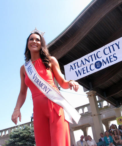 <div class='meta'><div class='origin-logo' data-origin='none'></div><span class='caption-text' data-credit='AP'>This Tuesday, Aug. 30, 2016 photo shows Miss Vermont Rylee Field at a welcoming ceremony for the Miss America contestants in Atlantic City.</span></div>