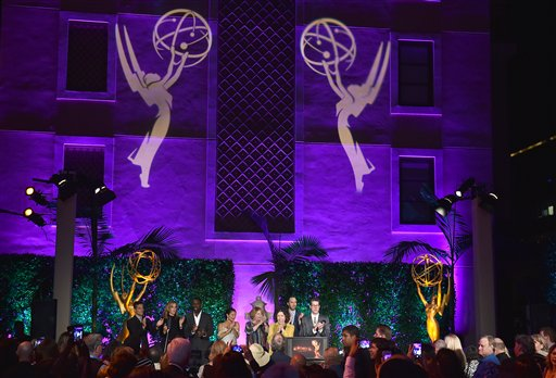 "<div class=""meta image-caption""><div class=""origin-logo origin-image ap""><span>AP</span></div><span class=""caption-text"">Lily Tomlin, left, and Peter Bergen speak at the Television Academy's Performers Emmy Celebration at the Montage Beverly Hills on Monday, Aug. 22, 2016. (Jordan Strauss/Invision/AP)</span></div>"