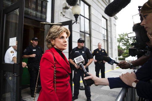 <div class='meta'><div class='origin-logo' data-origin='none'></div><span class='caption-text' data-credit='AP'>Attorney Gloria Allred speaks with members of the media ahead of Bill Cosby's sexual assault trial in Norristown, Pa., Monday, June 5, 2017. (AP Photo/Matt Rourke)</span></div>