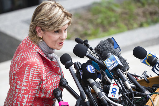 <div class='meta'><div class='origin-logo' data-origin='AP'></div><span class='caption-text' data-credit='(AP Photo/Matt Rourke)'>Attorney Gloria Allred speaks with members of the media during jury deliberations in Bill Cosby's sexual assault trial on June 14, 2017.</span></div>