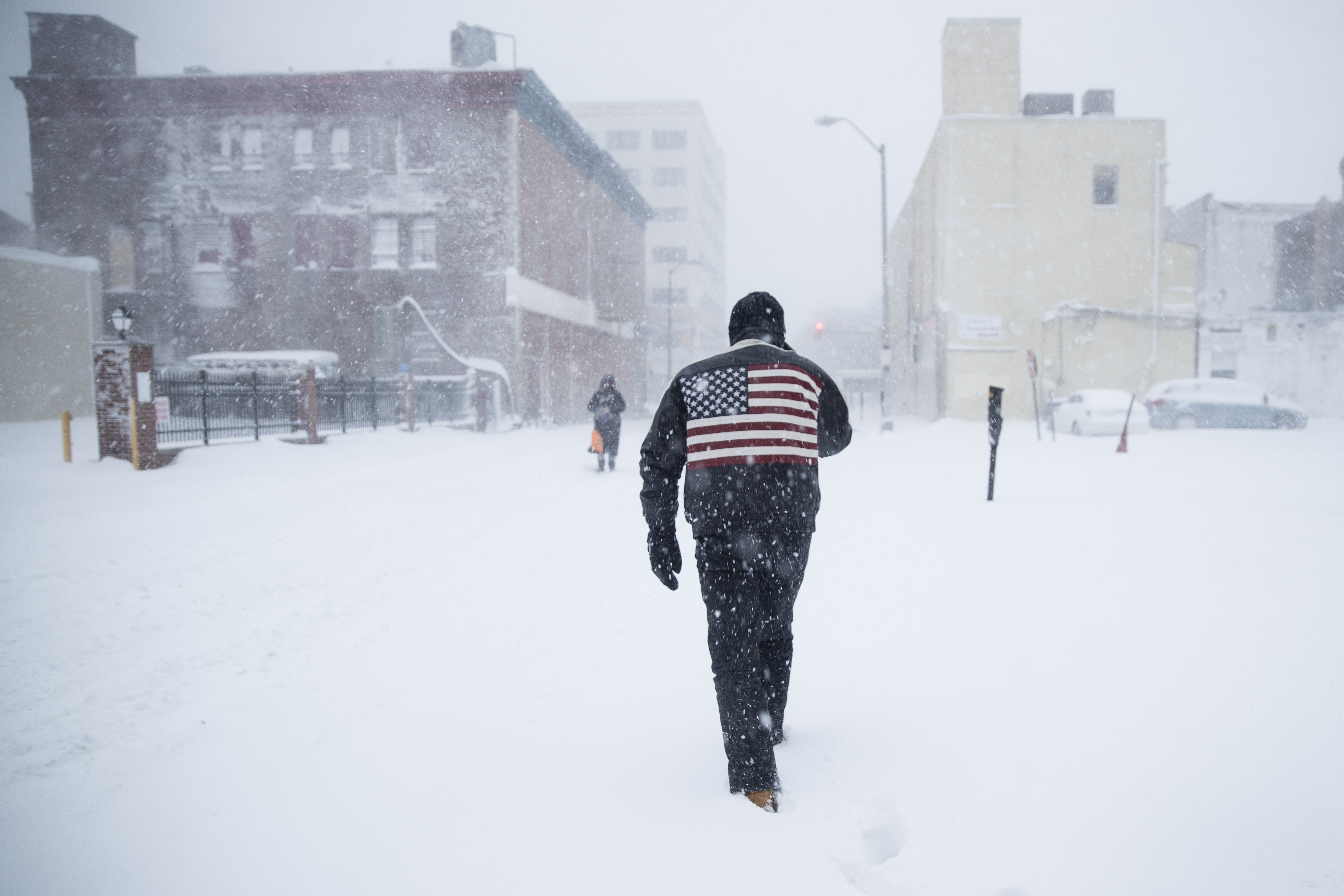 "<div class=""meta image-caption""><div class=""origin-logo origin-image none""><span>none</span></div><span class=""caption-text"">A man pushes his way through a winter snowstorm in Atlantic City, N.J., Thursday, Jan. 4, 2018.  (AP Photo/Matt Rourke) (AP)</span></div>"