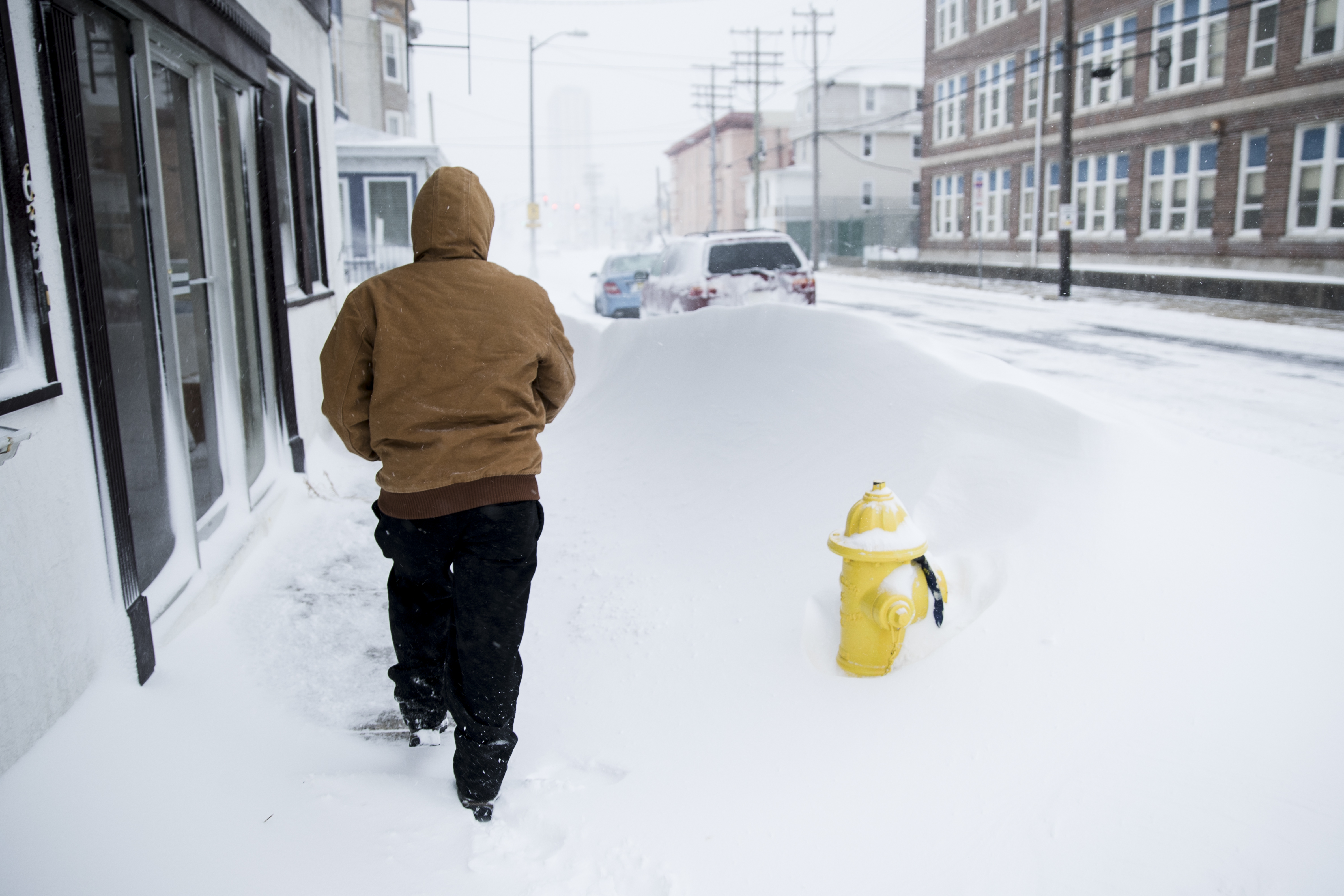 "<div class=""meta image-caption""><div class=""origin-logo origin-image none""><span>none</span></div><span class=""caption-text"">A person walks during a snowstorm in Atlantic City, N.J., Thursday, Jan. 4, 2018. (AP Photo/Matt Rourke) (AP)</span></div>"