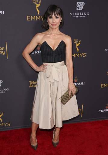 "<div class=""meta image-caption""><div class=""origin-logo origin-image ap""><span>AP</span></div><span class=""caption-text"">Constance Zimmer arrives at the Television Academy's Performers Emmy Celebration at the Montage Beverly Hills on Monday, Aug. 22, 2016. (Matt Sayles/Invision/AP)</span></div>"