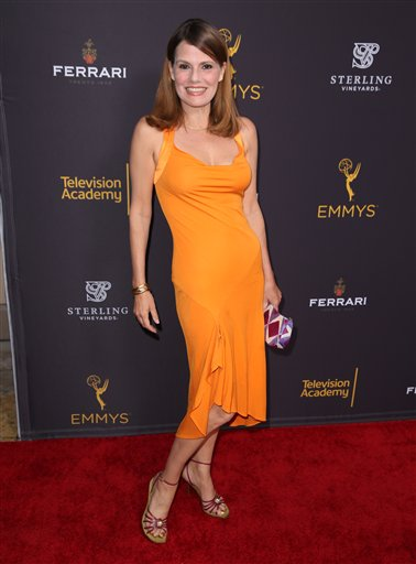 "<div class=""meta image-caption""><div class=""origin-logo origin-image ap""><span>AP</span></div><span class=""caption-text"">Suzanne Cryer arrives at the Television Academy's Performers Emmy Celebration at the Montage Beverly Hills on Monday, Aug. 22, 2016. (Matt Sayles/Invision/AP)</span></div>"