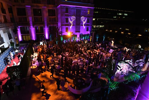 "<div class=""meta image-caption""><div class=""origin-logo origin-image ap""><span>AP</span></div><span class=""caption-text"">A view of atmosphere at the Television Academy's Performers Emmy Celebration at the Montage Beverly Hills on Monday, Aug. 22, 2016. (Jordan Strauss/Invision/AP)</span></div>"