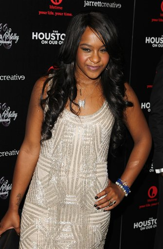 <div class='meta'><div class='origin-logo' data-origin='none'></div><span class='caption-text' data-credit='Donald Traill/Invision/AP'>Bobbi Kristina Brown attends the premiere party for &#34;The Houstons On Our Own&#34; at the Tribeca Grand hotel on Monday, Oct. 22, 2012 in New York. ( Photo by Donald Traill/Invision/AP)</span></div>
