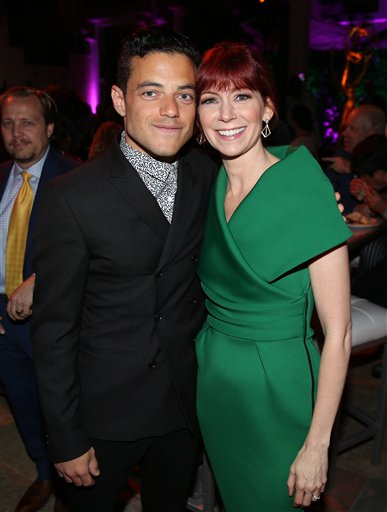 "<div class=""meta image-caption""><div class=""origin-logo origin-image ap""><span>AP</span></div><span class=""caption-text"">Rami Malek, left, and Carrie Preston attends the Television Academy's Performers Emmy Celebration at the Montage Beverly Hills on Monday, Aug. 22, 2016. (Matt Sayles/Invision/AP)</span></div>"