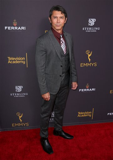 "<div class=""meta image-caption""><div class=""origin-logo origin-image ap""><span>AP</span></div><span class=""caption-text"">Lou Diamond Phillips  arrives at the Television Academy's Performers Emmy Celebration at the Montage Beverly Hills on Monday, Aug. 22, 2016. (Matt Sayles/Invision/AP)</span></div>"