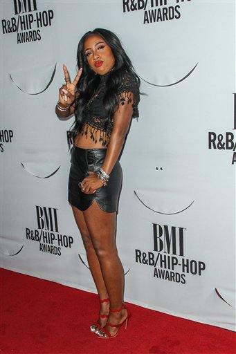 <div class='meta'><div class='origin-logo' data-origin='AP'></div><span class='caption-text' data-credit='Paul A. Hebert/Invision/AP'>Sevyn Streeter attends the 2015 BMI R&B/Hip-Hop Awards at the Saban Theatre on Friday, August 28, 2015 in Beverly Hills, Calif.</span></div>