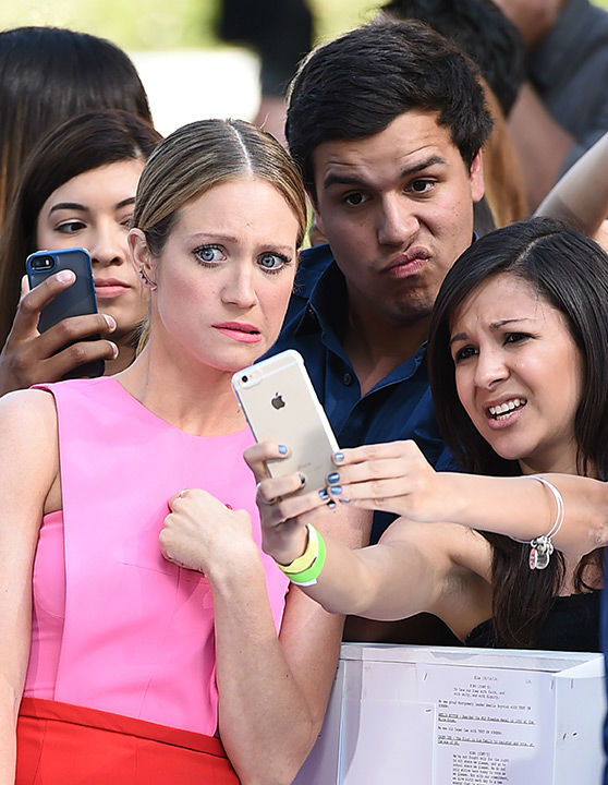 "<div class=""meta image-caption""><div class=""origin-logo origin-image none""><span>none</span></div><span class=""caption-text"">Pictured: Brittany Snow  (Photo/Jordan Strauss)</span></div>"