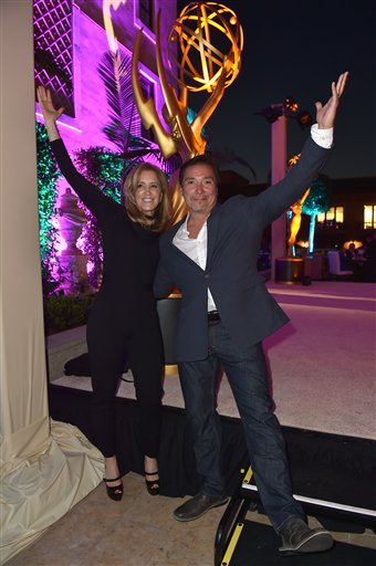 "<div class=""meta image-caption""><div class=""origin-logo origin-image ap""><span>AP</span></div><span class=""caption-text"">Felicity Huffman, left, and Benito Martinez attend the Television Academy's Performers Emmy Celebration at the Montage Beverly Hills on Monday, Aug. 22, 2016. (Jordan Strauss/Invision/AP)</span></div>"