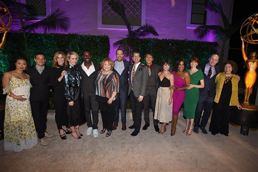 "<div class=""meta image-caption""><div class=""origin-logo origin-image ap""><span>AP</span></div><span class=""caption-text"">Stars attend the Television Academy's Performers Emmy Celebration at the Montage Beverly Hills on Monday, Aug. 22, 2016. (Jordan Strauss/Invision/AP)</span></div>"