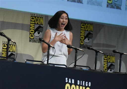 "<div class=""meta image-caption""><div class=""origin-logo origin-image none""><span>none</span></div><span class=""caption-text"">Karen Fukuhara attends the ""Suicide Squad"" panel on day 3 of Comic-Con International on Saturday, July 11, 2015, in San Diego. (Photo by Richard Shotwell/Invision/AP) (Richard Shotwell/Invision/AP)</span></div>"