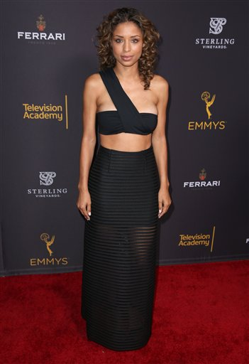 "<div class=""meta image-caption""><div class=""origin-logo origin-image ap""><span>AP</span></div><span class=""caption-text"">Brytni Sarpy arrives at the Television Academy's Performers Emmy Celebration at the Montage Beverly Hills on Monday, Aug. 22, 2016. (Matt Sayles/Invision/AP)</span></div>"