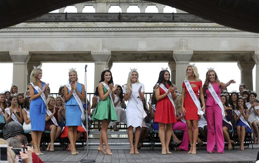 "<div class=""meta image-caption""><div class=""origin-logo origin-image none""><span>none</span></div><span class=""caption-text"">Miss America Pageant arrival ceremonies Tuesday, Aug. 30, 2016, in Atlantic City. (AP)</span></div>"