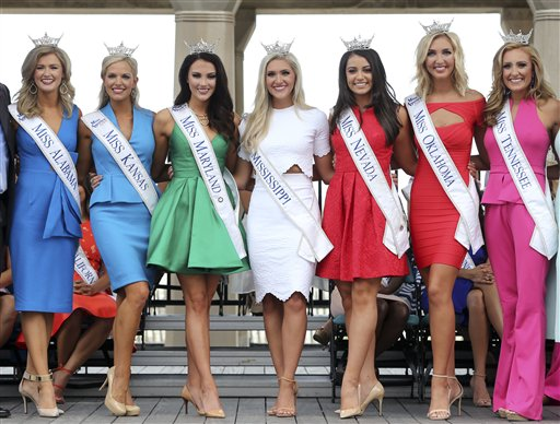 <div class='meta'><div class='origin-logo' data-origin='none'></div><span class='caption-text' data-credit='AP'>Miss America Pageant arrival ceremonies Tuesday, Aug. 30, 2016, in Atlantic City.</span></div>
