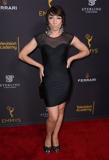 "<div class=""meta image-caption""><div class=""origin-logo origin-image ap""><span>AP</span></div><span class=""caption-text"">Naomi Grossman arrives at the Television Academy's Performers Emmy Celebration at the Montage Beverly Hills on Monday, Aug. 22, 2016. (Matt Sayles/Invision/AP)</span></div>"