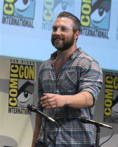 "<div class=""meta image-caption""><div class=""origin-logo origin-image none""><span>none</span></div><span class=""caption-text"">Jai Courtney walks onstage at the ""Suicide Squad"" panel on day 3 of Comic-Con International on Saturday, July 11, 2015, in San Diego. (Photo by Richard Shotwell/Invision/AP) (Richard Shotwell/Invision/AP)</span></div>"