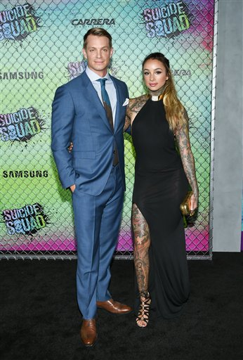 "<div class=""meta image-caption""><div class=""origin-logo origin-image none""><span>none</span></div><span class=""caption-text"">Actor Joel Kinnaman and girlfriend Cleo Wattenstrom attend the world premiere of ""Suicide Squad"" at the Beacon Theatre on Monday, Aug. 1, 2016, in New York. (Evan Agostini/Invision/AP)</span></div>"