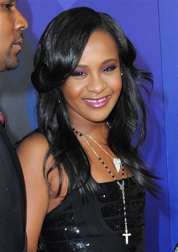 <div class='meta'><div class='origin-logo' data-origin='none'></div><span class='caption-text' data-credit='Jordan Strauss/Invision/AP'>Bobbi Kristina Brown attends the Los Angeles premiere of &#34;Sparkle&#34; at Grauman's Chinese Theatre on Thursday, Aug. 16, 2012, in Los Angeles. (Photo by Jordan Strauss/Invision/AP)</span></div>