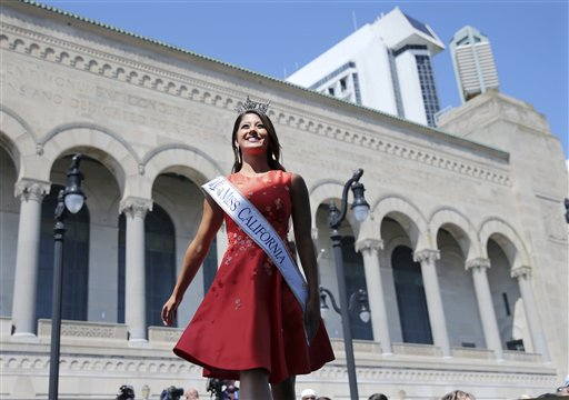 <div class='meta'><div class='origin-logo' data-origin='none'></div><span class='caption-text' data-credit='AP'>Miss California, Jessa Carmack is introduced during Miss America Pageant arrival ceremonies Tuesday, Aug. 30, 2016, in Atlantic City.</span></div>