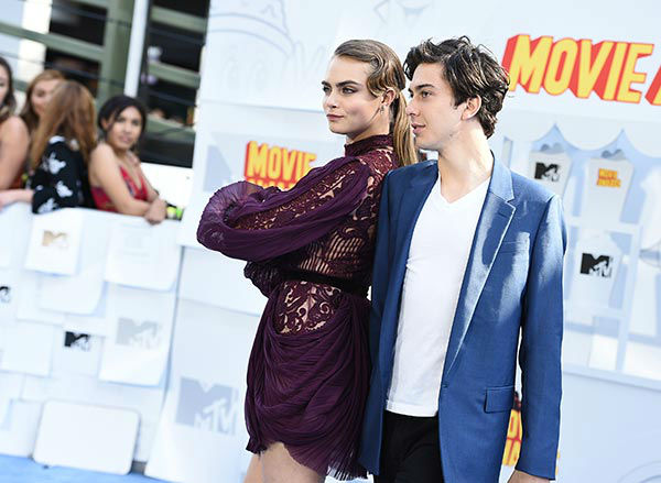 "<div class=""meta image-caption""><div class=""origin-logo origin-image none""><span>none</span></div><span class=""caption-text"">Pictured: Cara Delevingne, left, and Nat Wolff  (Photo/Jordan Strauss)</span></div>"