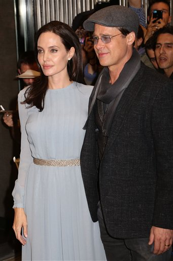 "<div class=""meta image-caption""><div class=""origin-logo origin-image none""><span>none</span></div><span class=""caption-text"">Angelina Jolie, left, and Brad Pitt attend a special screening of ""By The Sea"" on Tuesday, Nov. 3, 2015, in New York. (Photo by Greg Allen/Invision/AP) (Greg Allen/Invision/AP)</span></div>"