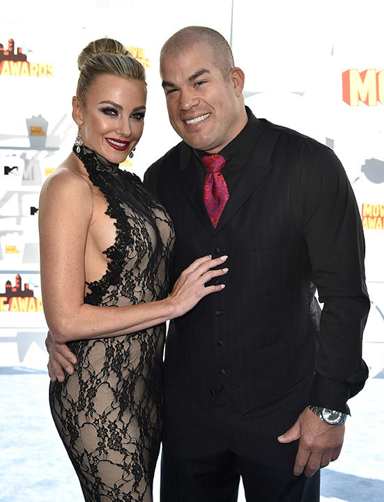 "<div class=""meta image-caption""><div class=""origin-logo origin-image none""><span>none</span></div><span class=""caption-text"">Pictured: Amber Nichole and Tito Ortiz (Photo/Jordan Strauss)</span></div>"