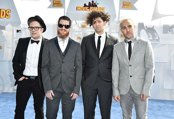 "<div class=""meta image-caption""><div class=""origin-logo origin-image none""><span>none</span></div><span class=""caption-text"">Pictured: Patrick Stump, from left, Andy Hurley, Joe Trohman, and Pete Wentz of Fall Out Boy  (Photo/Jordan Strauss)</span></div>"