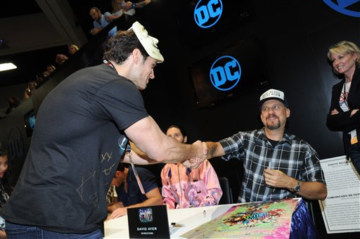 "<div class=""meta image-caption""><div class=""origin-logo origin-image none""><span>none</span></div><span class=""caption-text"">Henry Cavill and Director David Ayer seen at the ""Suicide Squad"" Cast Signing at 2016 Comic-Con on Saturday, July 23, 2016, in San Diego, CA. (Richard Shotwell/Invision/AP)</span></div>"