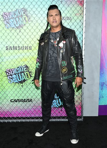 "<div class=""meta image-caption""><div class=""origin-logo origin-image none""><span>none</span></div><span class=""caption-text"">Adam Beach attends the world premiere of ""Suicide Squad"" at the Beacon Theatre on Monday, Aug. 1, 2016, in New York. (Photo by Evan Agostini/Invision/AP) (Evan Agostini/Invision/AP)</span></div>"