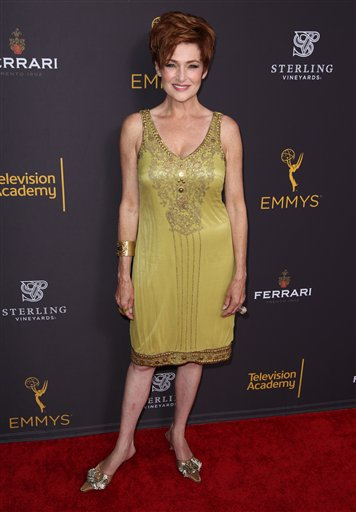 "<div class=""meta image-caption""><div class=""origin-logo origin-image none""><span>none</span></div><span class=""caption-text"">Carolyn Hennesy arrives at the Television Academy's Performers Emmy Celebration at the Montage Beverly Hills on Monday, Aug. 22, 2016. (Matt Sayles/Invision/AP)</span></div>"