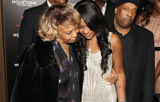 <div class='meta'><div class='origin-logo' data-origin='none'></div><span class='caption-text' data-credit='Donald Traill/Invision/AP'>Singer Cissy Houston and Bobbi Kristina Brown attend the premiere party for &#34;The Houstons On Our Own&#34; at the Tribeca Grand hotel on Monday, Oct. 22, 2012 in New York</span></div>