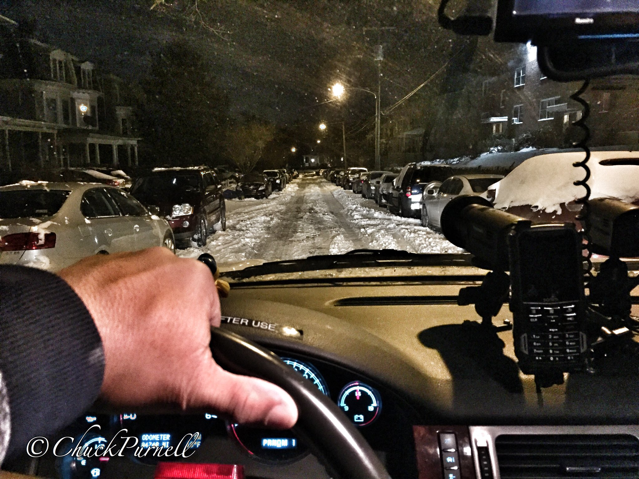 "<div class=""meta image-caption""><div class=""origin-logo origin-image none""><span>none</span></div><span class=""caption-text"">Action News photographer Chuck Purnell gave morning viewers a look at the Philadelphia streets that were and weren't plowed.</span></div>"