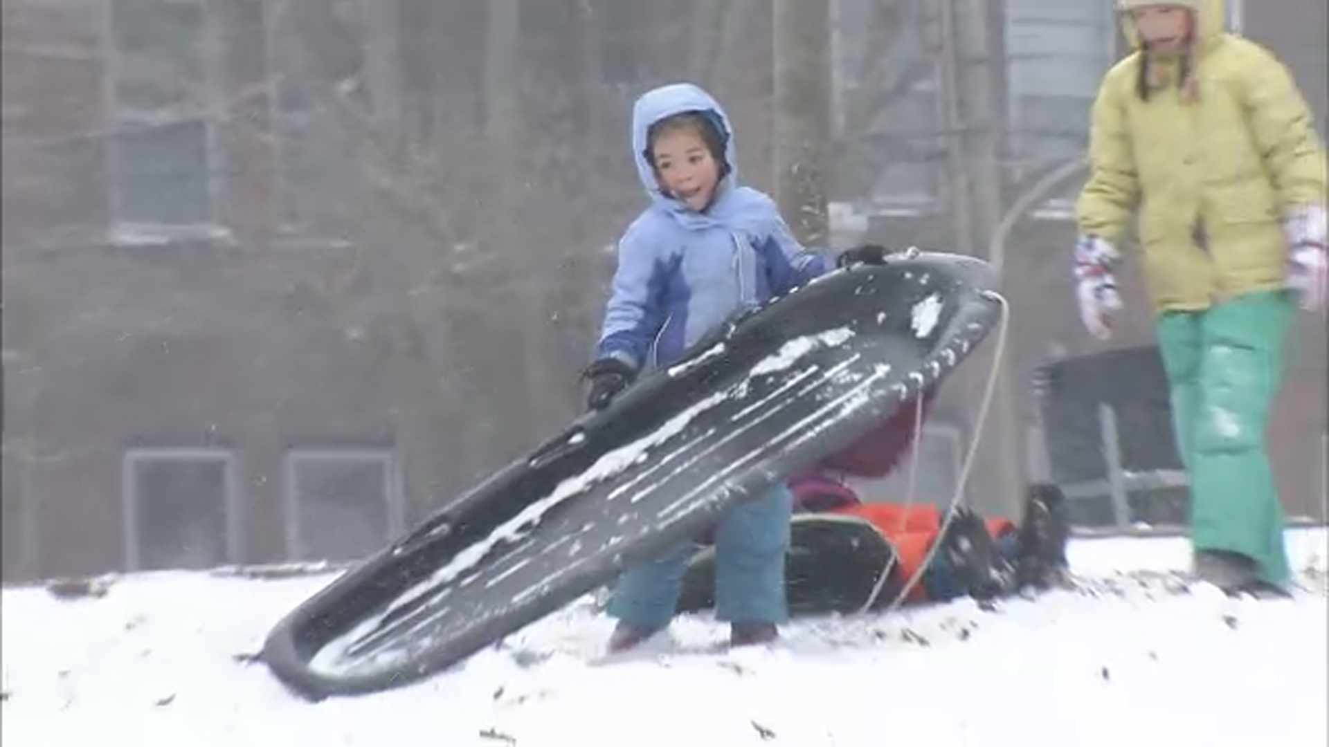 "<div class=""meta image-caption""><div class=""origin-logo origin-image wpvi""><span>WPVI</span></div><span class=""caption-text"">Sledding is hard work - West Philadelphia</span></div>"
