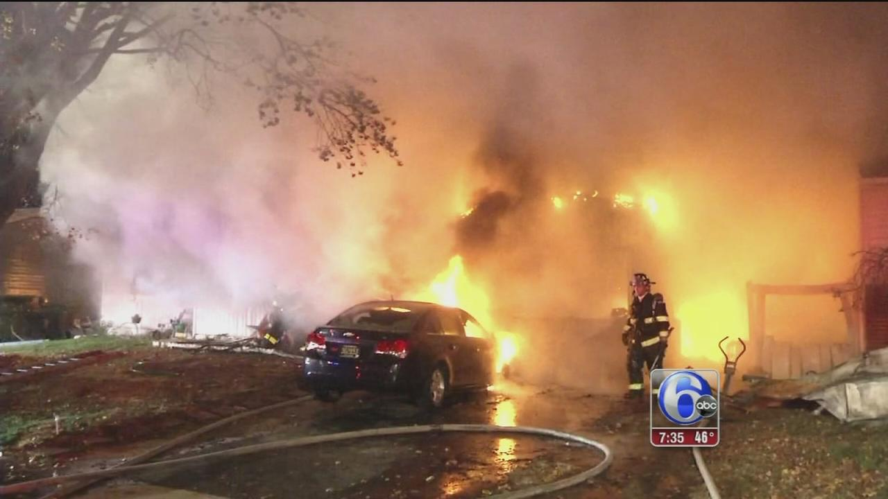 VIDEO: New Castle fire