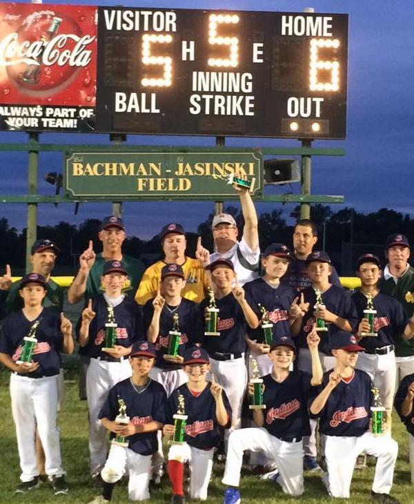 <div class='meta'><div class='origin-logo' data-origin='none'></div><span class='caption-text' data-credit=''>Nor-Gwyn Baseball Indians Majors team - championship winners</span></div>